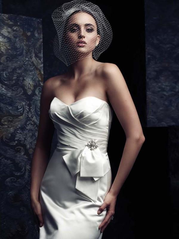 Beautiful Nät Wedding Slöjor