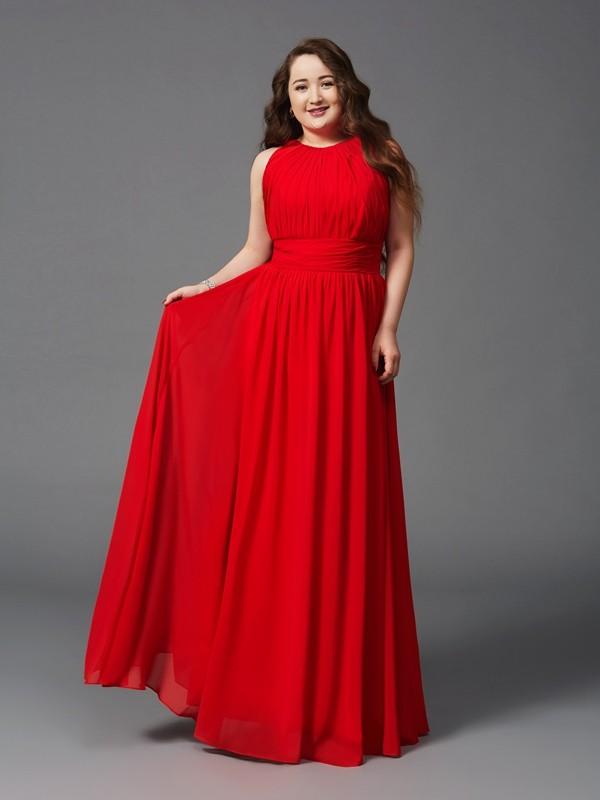 långa klänningar stora storlekar