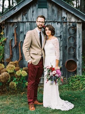 Slida/Kolumn 3/4 Ärmar Spetsar Off-shoulder ringning Rosett Sweep släp Bröllopsklänningar