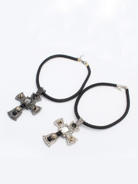 Occident Punk Retro Cross Hot Sale Halsband