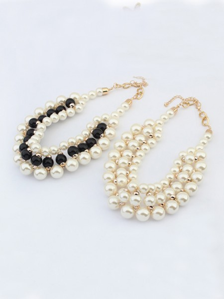 Occident Stylish Imitation Pärlor Hot Sale Halsband