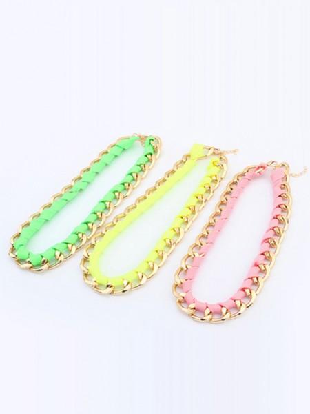 Occident Trendy Major suit Fluorescent colors Hot Sale Halsband