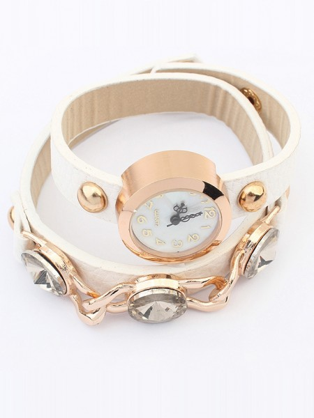 Occident Stylish Trendy Retro Hot Sale Armband Watch