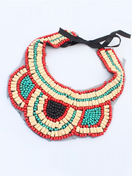 Occident Exotic Personality Retro Hot Sale Halsband-8