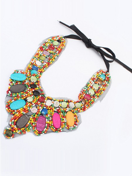 Occident Exotic Personality Retro Hot Sale Halsband-11