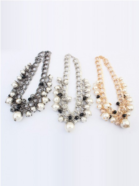 Occident Stylish Pärlor Exquisite Hot Sale Halsband