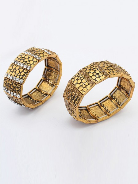 Occident Exotic Personality Wide version Elasticity Hot Sale Armband