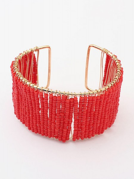 Occident Summer Handwork Beaded opening Hot Sale Armband