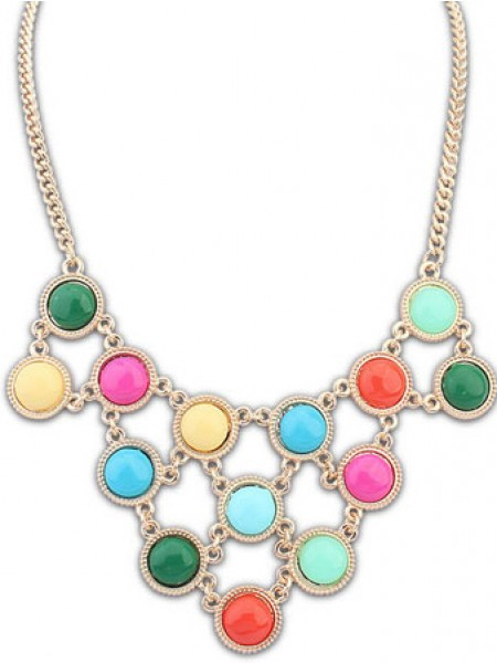 Occident Candy colors Sweet multi-layered Hot Sale Halsband