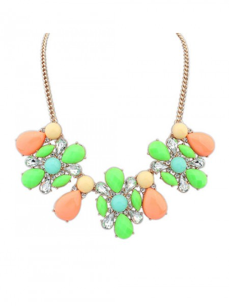 Occident Street shooting Collision color Exquisite Simple Hot Sale Halsband