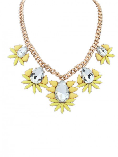 Occident Hyperbolic all-match Water Drop Hot Sale Halsband