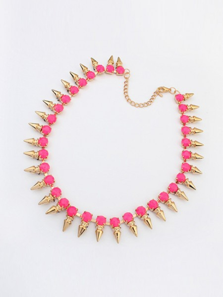Occident Hyperbolic Conical Punk Simple Hot Sale Halsband
