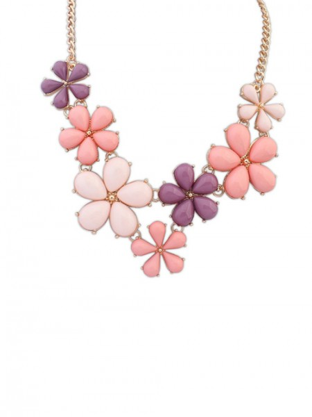 Occident Blommor Sweet Hot Sale Halsband