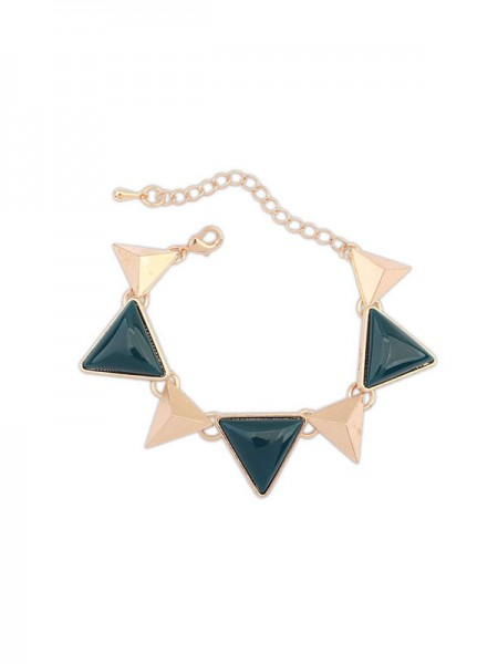 Occident Retro Punk Geometry Triangle Hot Sale Armband