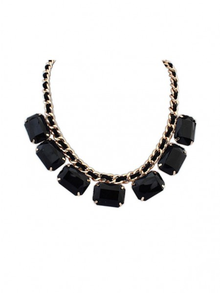 Occident Simple Blocks All-match New Hot Sale Halsband