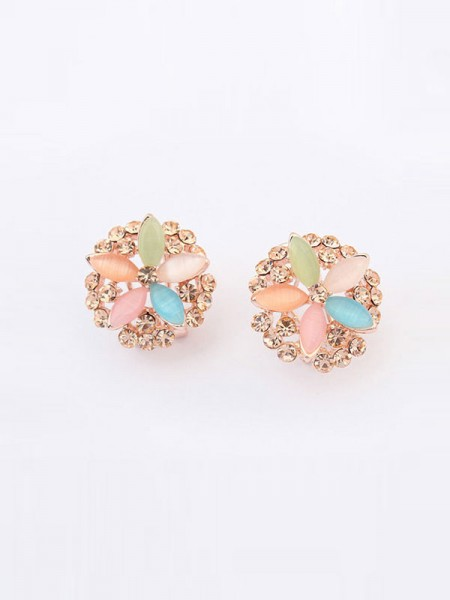 Occident Fashionable Five Blommor Exquisite Hot Sale Ear Clip