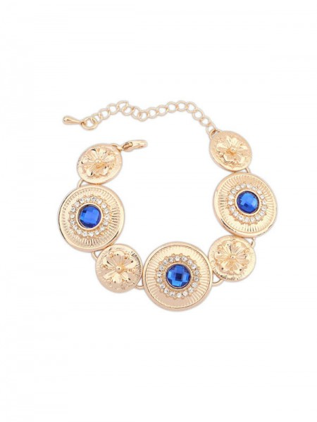 Occident Fashionable Popular Round Plate Hot Sale Armband