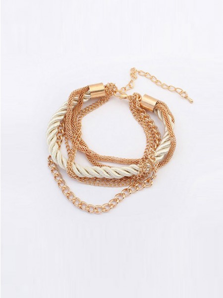 Occident All-match Woven Multi-layered Hot Sale Armband